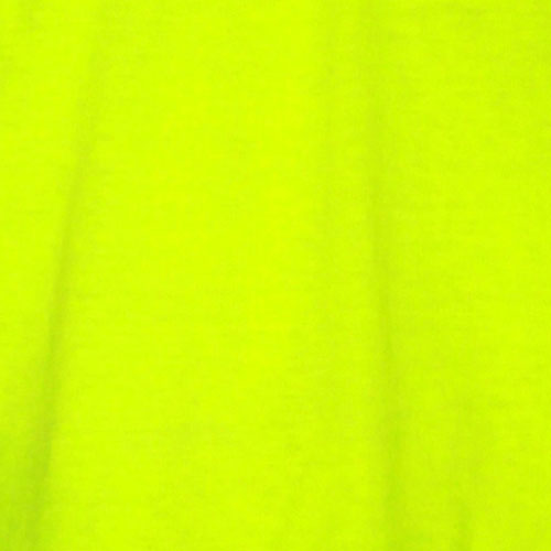 Fluorescent Yellow (Cotton Broadcloth)