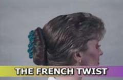 French Twist Instructions