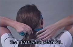 Wrap Hare Do Around Ponytail