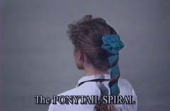 Ponytail Spiral Instructions