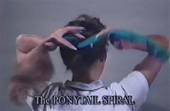 Wrap End Around Ponytail