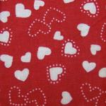 Cotton Hearts Print